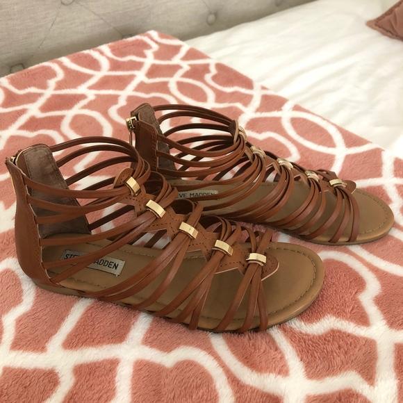 Steve Madden Shoes - Steve Madden Brown Gladiator sandals